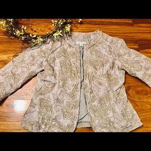 Coldwater Creek blazer size 10